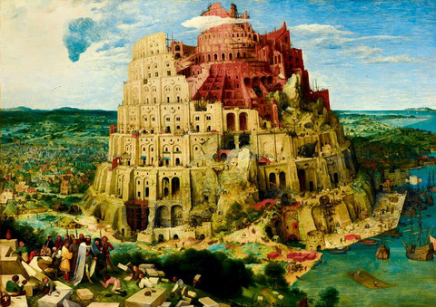 Bluebird Pieter Bruegel-The Tower of Babel palapeli