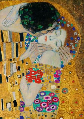 Bluebird Gustave Klimt-The Kiss palapeli