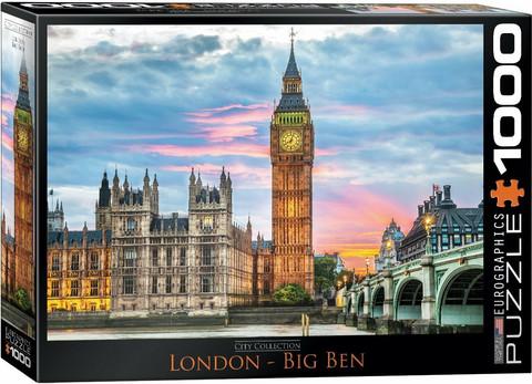 Eurographics London-Big Ben palapeli