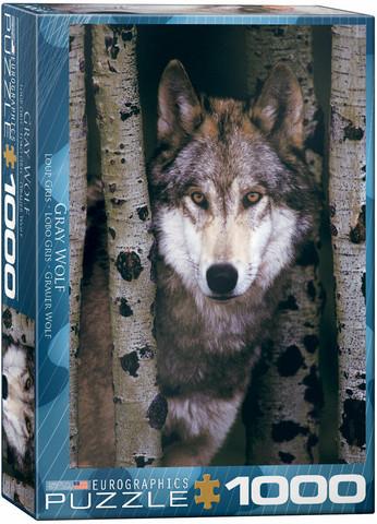 Eurographics Gray Wolf palapeli