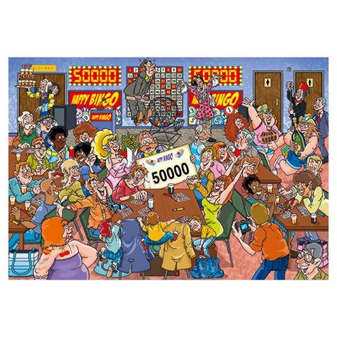 Wasgij Mystery 18 Bingo Blunder palapeli