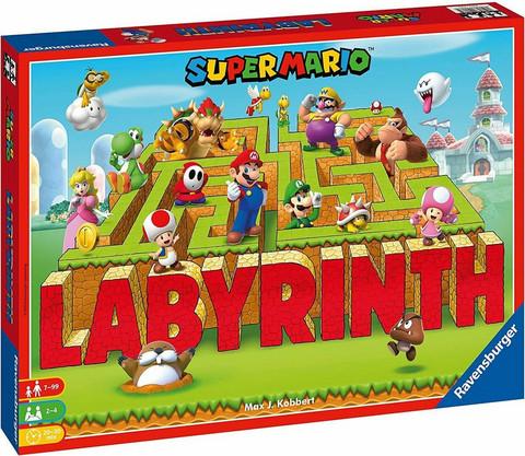 Super Mario muuttuva labyrintti peli