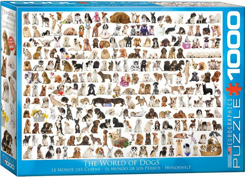Eurographics The World of Dogs palapeli