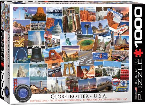 Eurographics Globetrotter USA palapeli