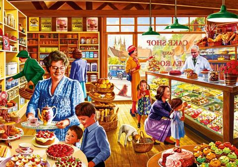Bluebird Nostalgic Cake Shop palapeli