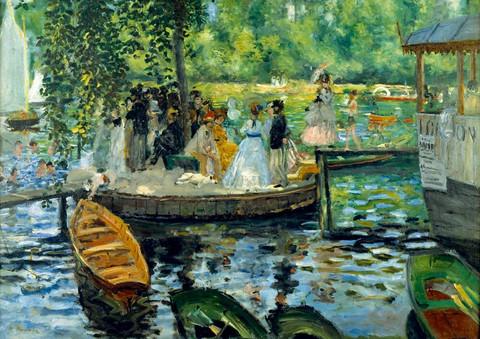 Bluebird Auguste Renoir Bain a`la Grenoillere palapeli