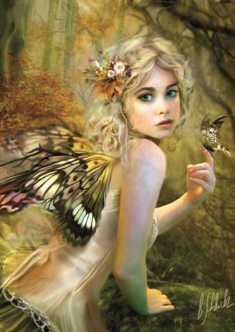 Bluebird Touch of Gold palapeli