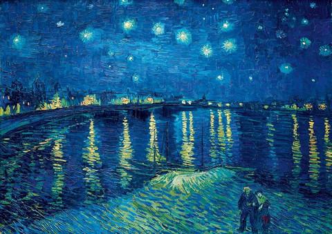 Bluebird Vincent Van Gogh Starry Night over the Rhone