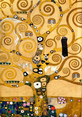 Bluebird Gustav Klimt The Tree of Life palapeli