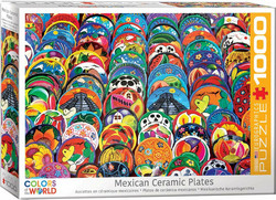 Eurographics Mexican Ceramics Plates palapeli