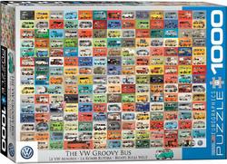Eurographics Volkswagen Groovy Bus palapeli