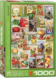 Eurographics Vegetables Seed Catalogue palapeli