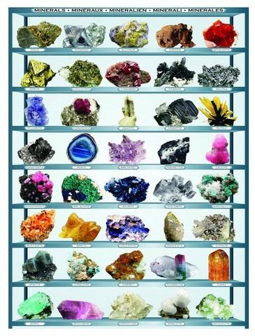 Eurographics Minerals palapeli