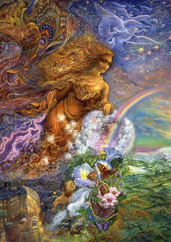 GrafikaJosephine Wall - Wind of Change palapeli