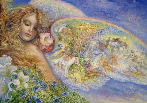 Grafika Josephine Wall - Wings of Love palapeli