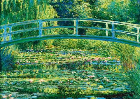 Bluebird Claude Monet The Water-Lily Pond