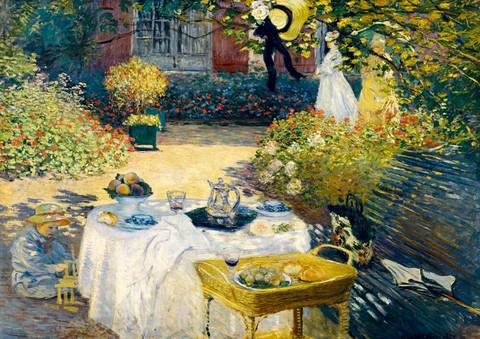 Bluebird Claude Monet The Lunch palapeli