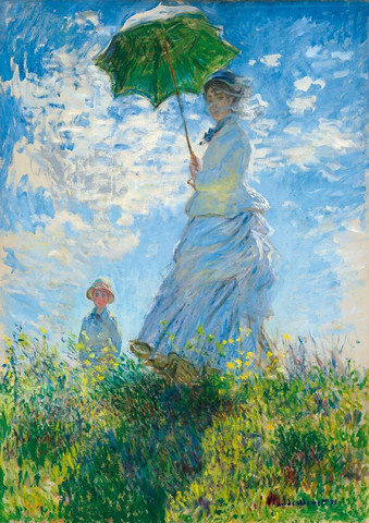 Bluebird Madame Monet and Her Son palapeli