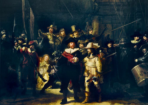 Bluebird Rembrandt-The Night Watch palapeli