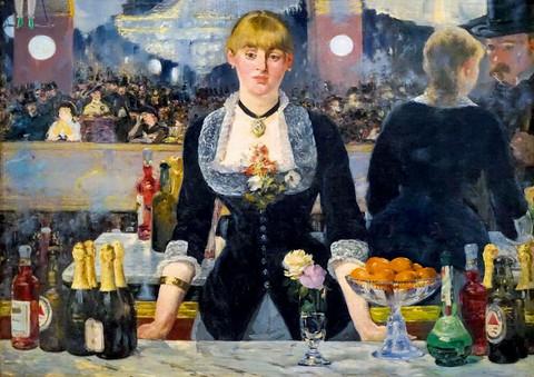 Bluebird Edouard Manet A Bar at the Folies Bergere palapeli
