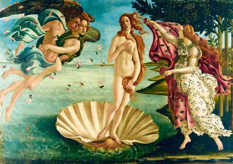 Bluebird The birth of Venus palapeli