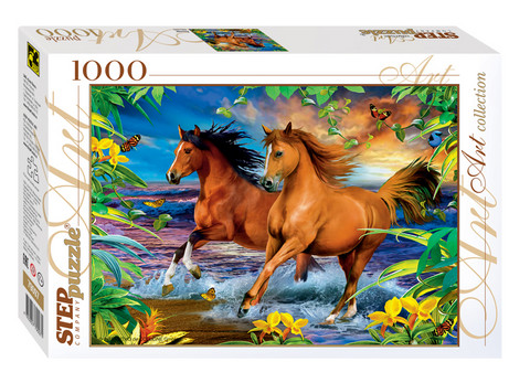 Step Puzzle Horses palapeli