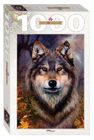 Step Puzzle Wolf palapeli