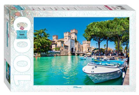 Step Puzzle Lake Garda palapeli