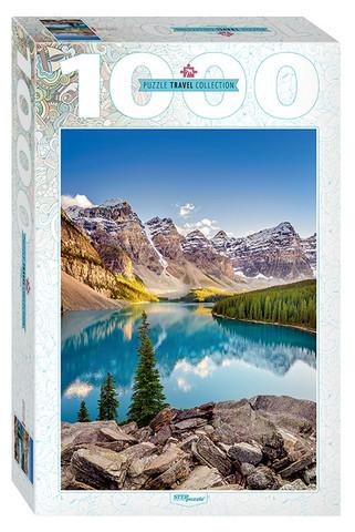 Step Puzzle Moraine Lake Canada palapeli