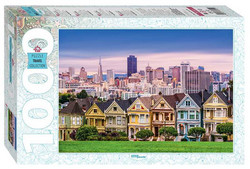 Step PuzzleThe Painted Ladies of San Francisco palapeli
