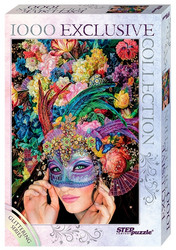 Step Puzzle Glittering series-Mask palapeli
