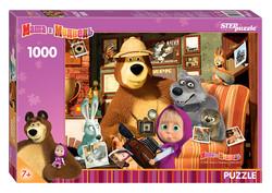 Step Puzzle Masha and the Bear palapeli