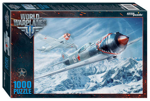 Step Puzzle World of Warplanes palapeli