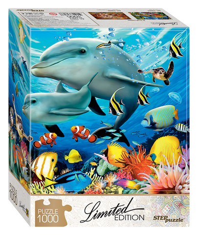 Step Puzzle Limited edition Undersea World palapeli