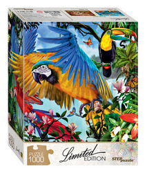 Step Puzzle Limited edition Parrots palapeli