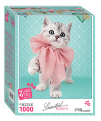 Step Puzzle Limited edition Studio Pets Kissa palapeli
