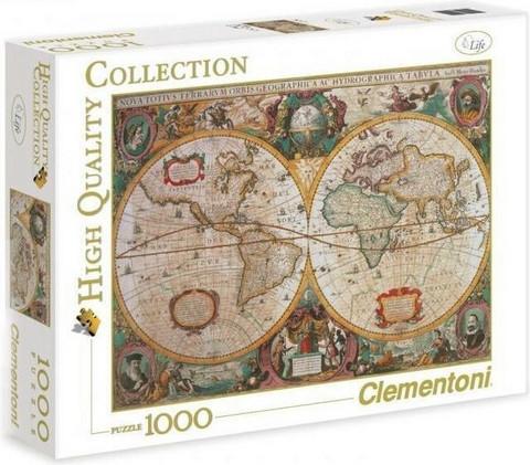 Clementoni Old Map palapeli