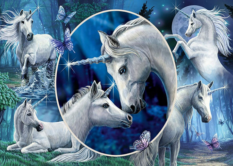Schmidt Lisa Parker, Graceful Unicorns palapeli