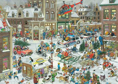 Jan Van Haasteren Christmas palapeli
