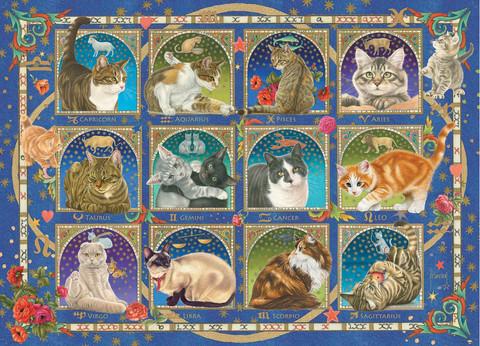Jumbo Francien-Cat Horoscope palapeli