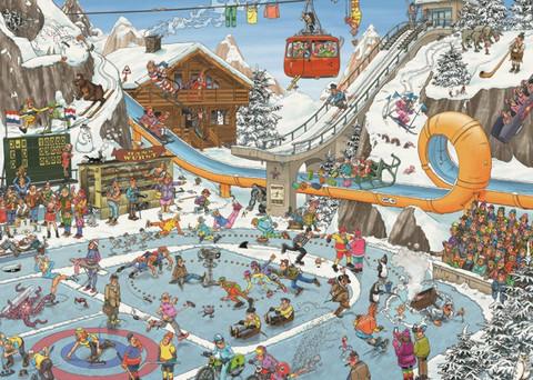 Jan Van Haasteren - The Winter Games palapeli