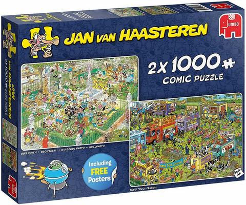 Jan Van Haasteren - BBQ Party palapeli