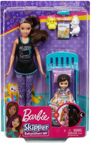 Barbie Skipper Babysitter Bedtime leikkisetti