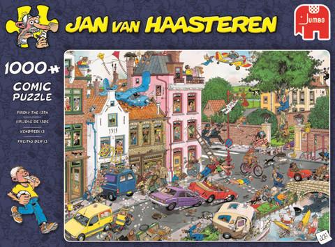 Jan Van Haasteren Friday the 13th palapeli