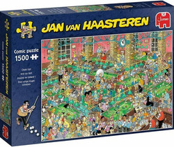Jan Van Haasteren Biljardisali-Chalk Up palapeli