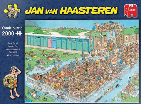 Jan Van Haasteren Maa-uimala,Pool Pile-up palapeli