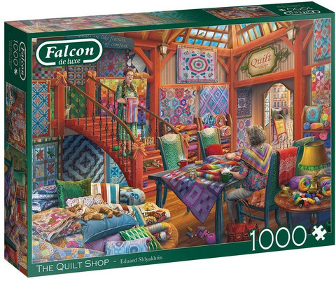 Falcon The Quilt Shop palapeli