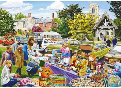 Falcon Village Church Car Boot Sale palapeli