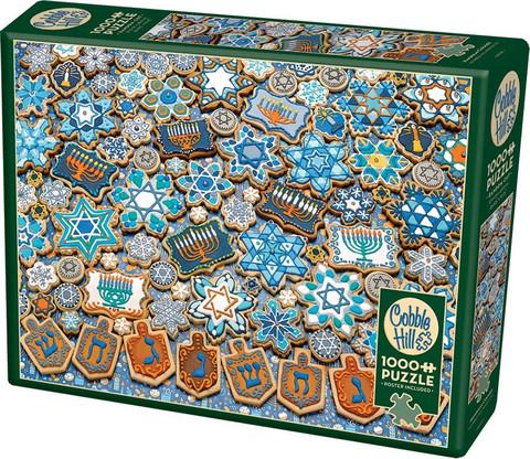 Cobble Hill Hanukkah Cookies palapeli