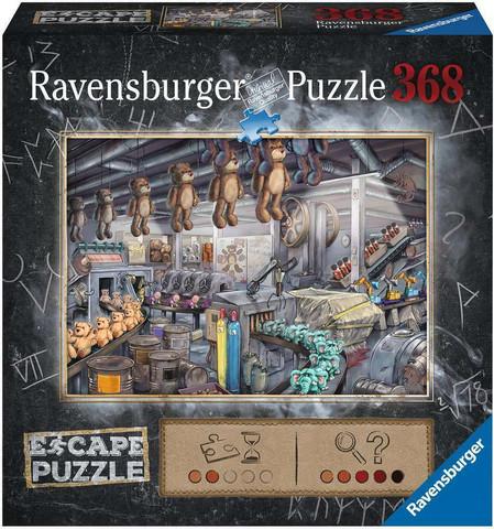 Ravensburger Escape Toy Factory -palapeli